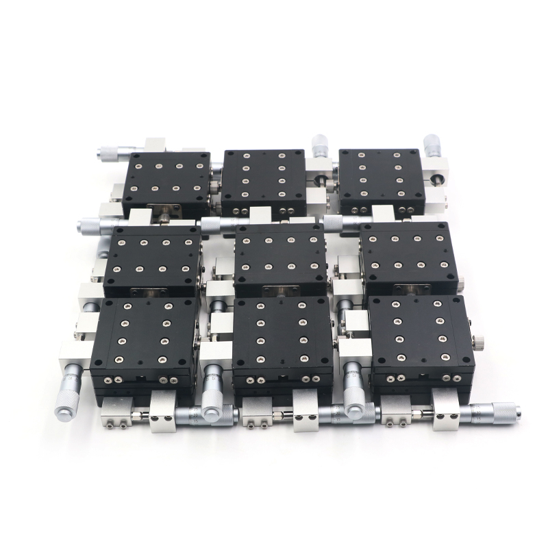 Optical Stage Accurate Position 60x60mm SEMXYZR60 4-Axis XYZR Micrometer Linear Stage Manual