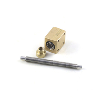 Anti-Backlash and Brass Nut Lead Screw for Cutting Machine